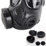 Airsoft Mask Full Face Skull CS Mask With Fan