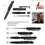 Military Tactical Pen, Professional Self Defense Pen, Emergency Glass Breaker Pen