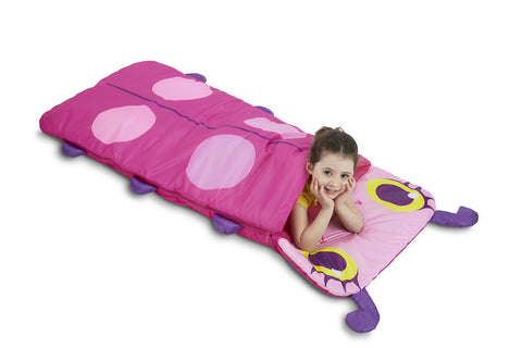 Ladybug Sleeping Bag With Matching Storage Bag