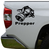 Gas Mask Biohazard Doomsday Prepper Die Cut Vinyl Decal Sticker