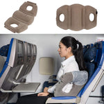 Inflatable Travel Pillow for Airplanes