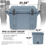Venture Cooler 45 Quart, Shoreline