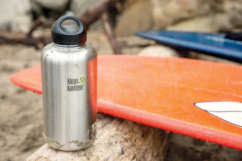 Wide Mouth Single Wall Stainless Steel Water Bottle with Leak Proof Stainless Steel Interior Cap