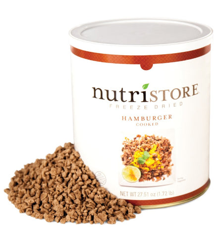 Freeze Dried Ground Beef by Nutristore