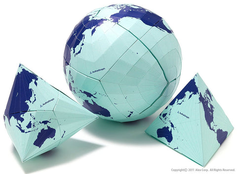 AuthaGraph Globe - The World's Most Accurate Globe