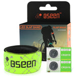 Heat Sealed Glow in The Dark Water/Sweat Resistant Glowing Wristbands