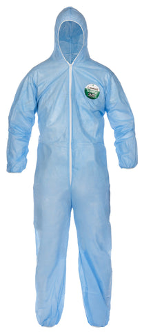 SMS Coverall with Hood, Disposable