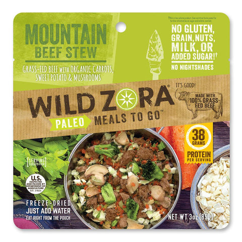Mountain Beef Stew - Paleo Meals to Go