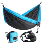 Double Camping Hammock with Hammock Tree Straps