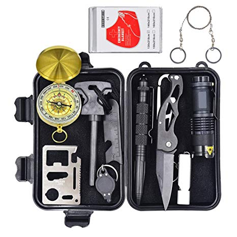 Professional Emergency Survival Gear Kit Outdoor Survival Tool
