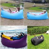 Inflatable Lounger With Travel Bag