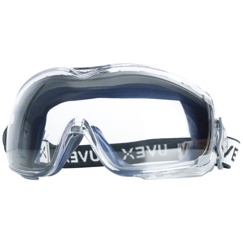 Stealth OTG Safety Goggles with Anti-Fog/Anti-Scratch Coating