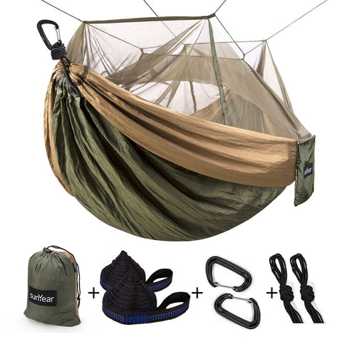 Camping Hammock with Mosquito/Bug Net