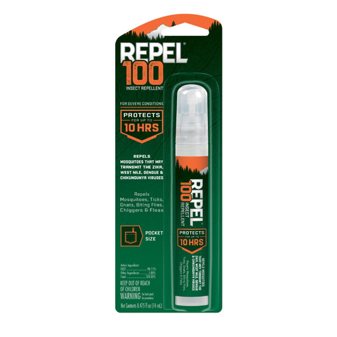 Repel 100 Insect Repellent, Pen-Size Pump Spray