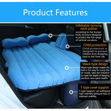 Inflatable Camping Bed with Pillow for the Car