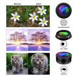 Phone Camera Lens Kit, 9 in 1 Zoom Universal Telephoto Lens