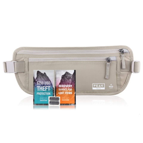 Travel Money Belt with RFID Block