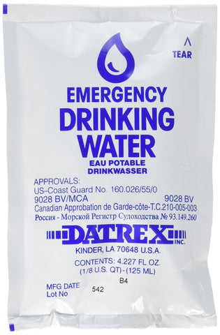 Datrex Emergency Survival Water Pouch
