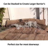 Sandless Sandbags - Water Absorbent Flood Barrier