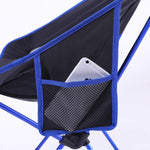 Outdoor Ultralight Portable Folding Chairs with Carry Bag Heavy Duty