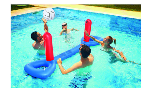 Inflatable Pool Volleyball Set