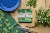 Survival Bandana - Illustrated Edible Wild Plants Guide Print
