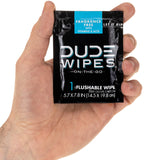 DUDE Wipes Flushable Wet Wipes