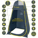 Pop Up Utilitent – Privacy Portable Toilet and Changing Room