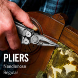 LEATHERMAN - Wave Plus Multitool with Premium Replaceable Wire Cutters and Scissors
