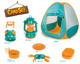 Little Explorers Pop Up Play Tent with Camping Gear