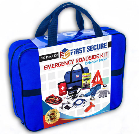 90-Piece Car Emergency Kit