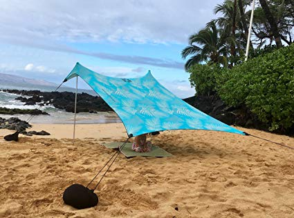 Portable Canopy Sunshade - 7' x 7'