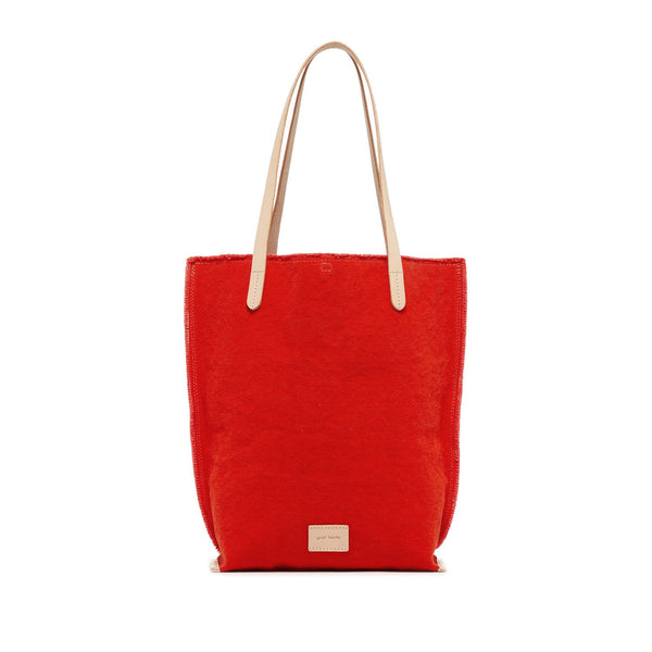 Hana Canvas Tote Bag - Poppy