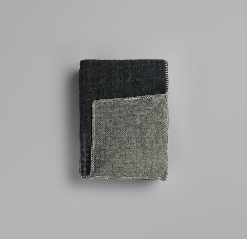 Roros Blanket/Throw - Bernadette Grey/Charcoal