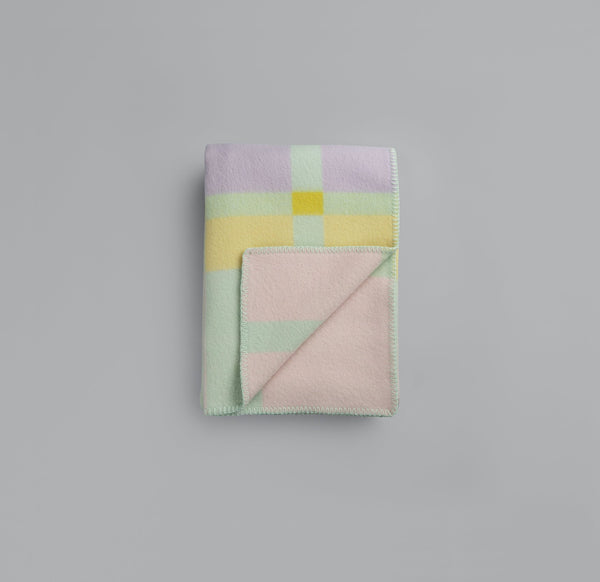 Roros Blanket/Throw - City Pastel