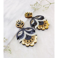 Flora Earrings - Gold