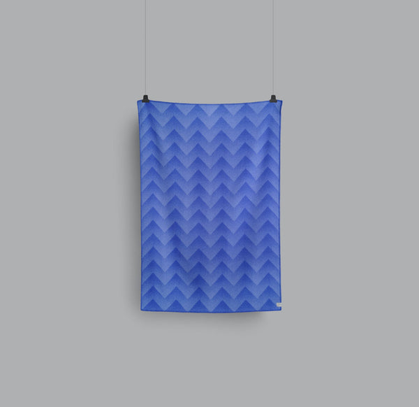 Roros Blanket/Throw - Lynild Blue