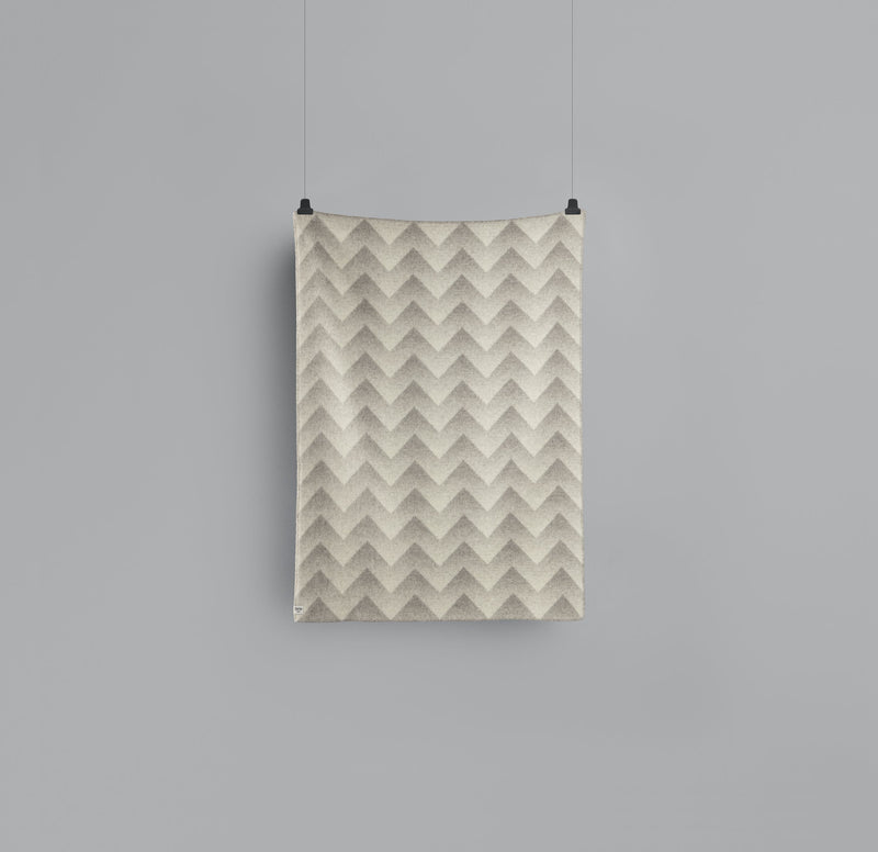 Roros Blanket/Throw - Lynild Grey/Natural