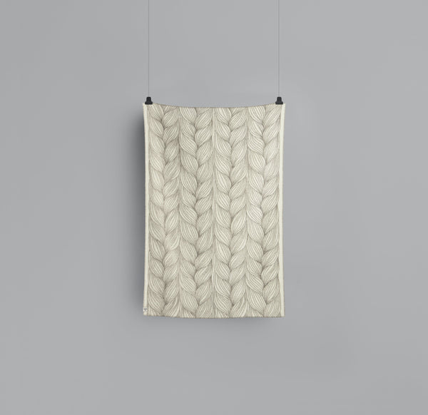 Roros Blanket/Throw - Naturpledd