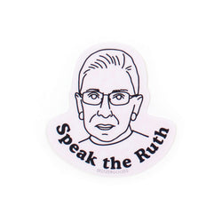 Speaker the Ruth Sticker