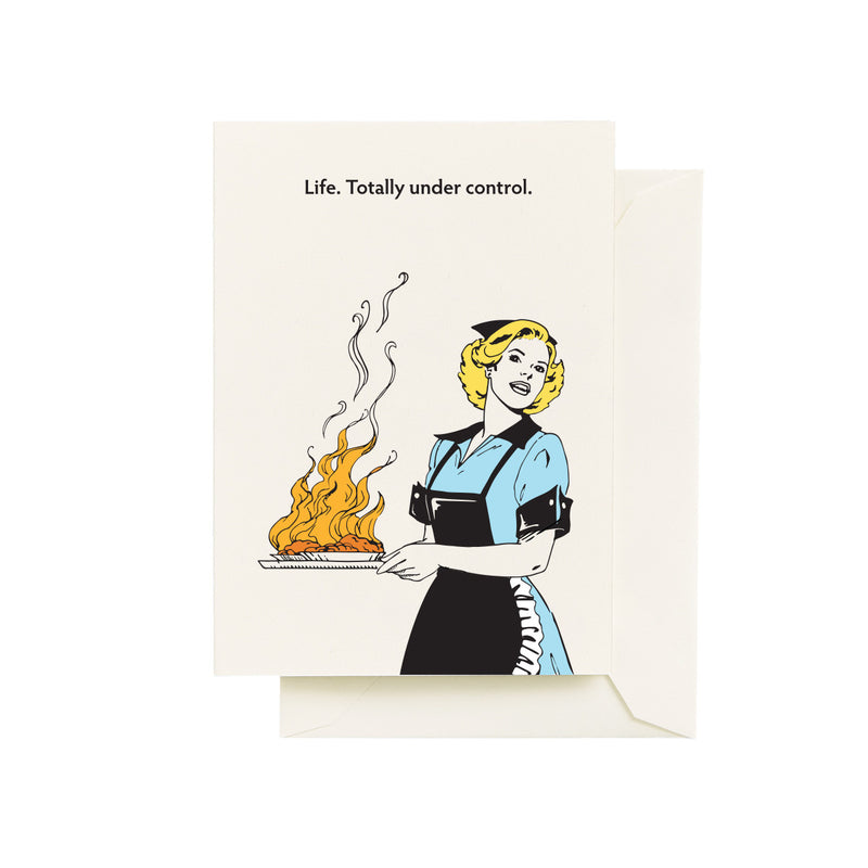 Life Totally Under Control Card