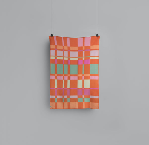 Roros Blanket/Throw - City Orange