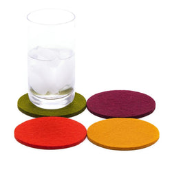 Wool coaster set of 4 (Spice)