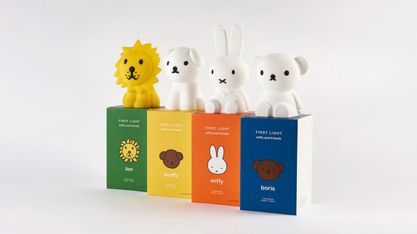 Miffy and Friends First Night Light
