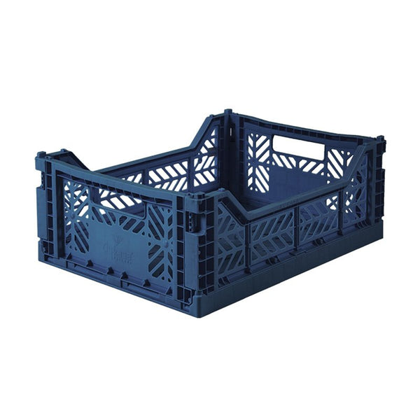 Foldable Crate - Midi Navy