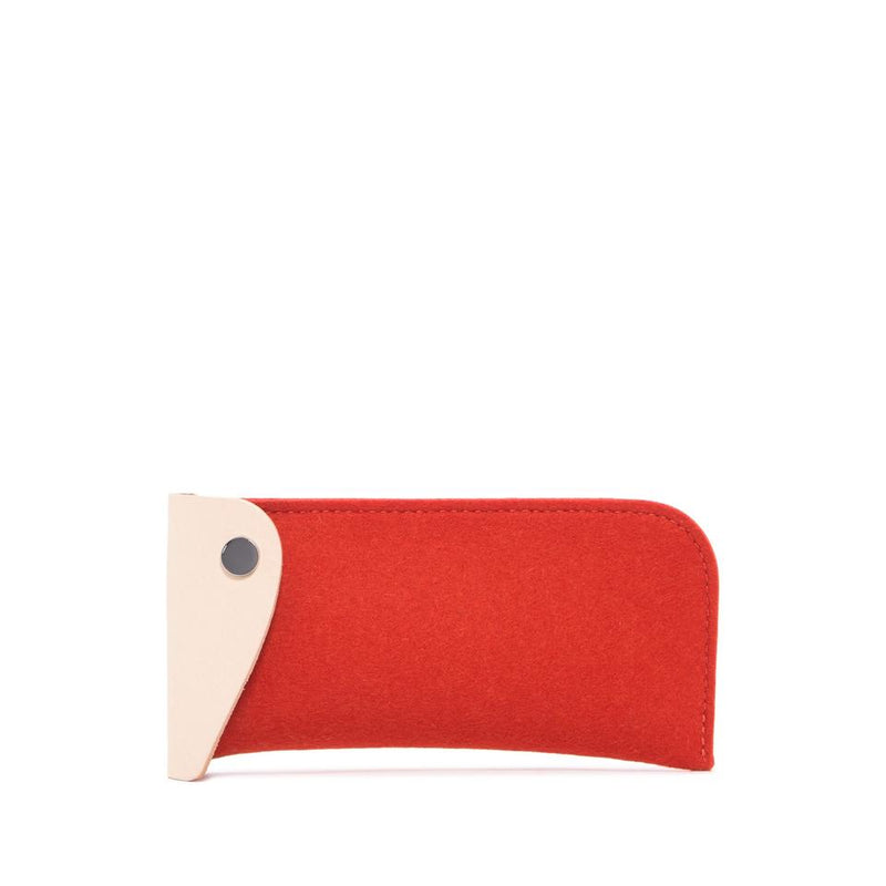 Anzen Eyeglass Case - Orange