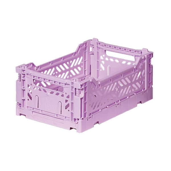 Foldable Crate - Mini Orchid