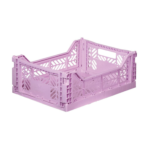 Foldable Crate - Midi Orchid