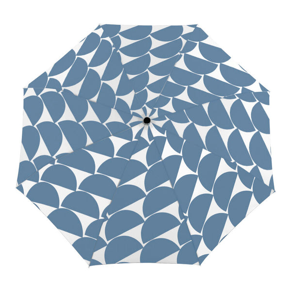 Compact Duck Umbrella - Denim Moon