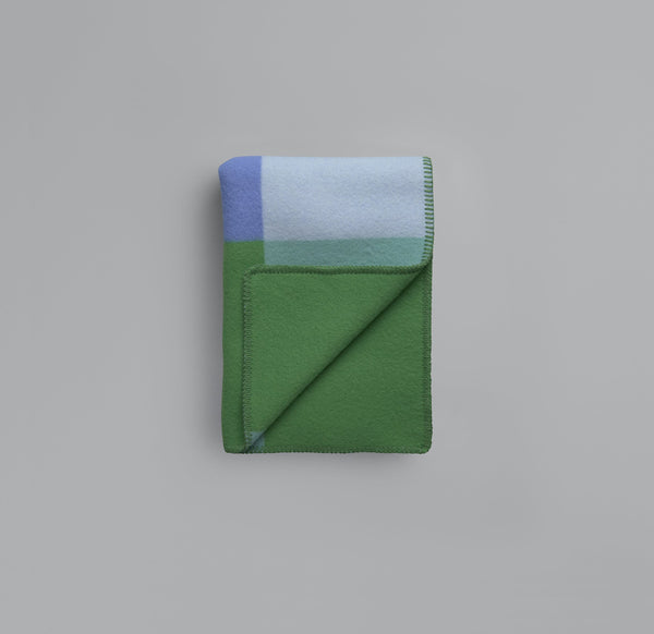 Roros Blanket/Throw - Syndin Green/Blue
